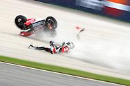 MotoGp crash