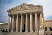 The Supreme Court of the United States is the highest court in the United States. Informally referred to as the High Court or by the acronym SCOTUS, it has ultimate (but largely discretionary) appellate jurisdiction over all state and federal courts, and original jurisdiction over a small range of cases. The Court meets in Washington, D.C. in the United States Supreme Court Building, and consists of a chief justice and eight associate justices who are nominated by the President and confirmed by the Senate.