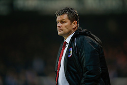 Bristol City Manager Steve Cotterill looks on - Photo mandatory by-line: Rogan Thomson/JMP - 07966 386802 - 28/11/2014 - SPORT - FOOTBALL - Peterborough, England - ABAX Stadium - Peterborough United v Bristol City - Sky Bet League 1.