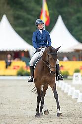 Friman Jonna, (SWE), Lady-Grey<br /> Dressage - CCI 4* Luhmuhlen 2016<br /> © Hippo Foto - Jon Stroud<br /> 16/06/16