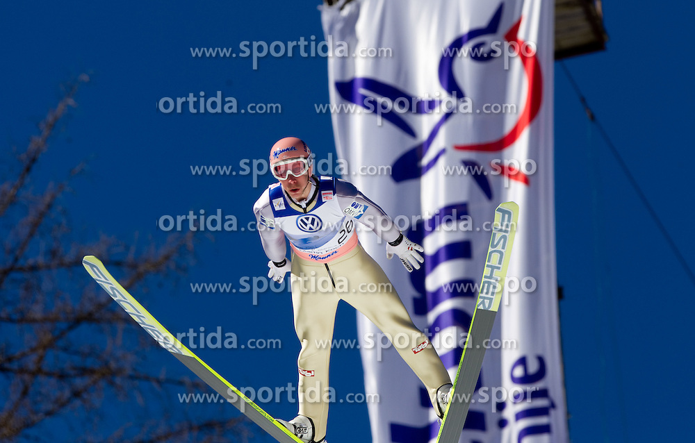 Martin Koch of Austria competes during Flying Hill Individual at 4th day of FIS Ski Jumping World Cup Finals Planica 2011, on March 20, 2011, Planica, Slovenia. (Photo by Vid Ponikvar / Sportida)