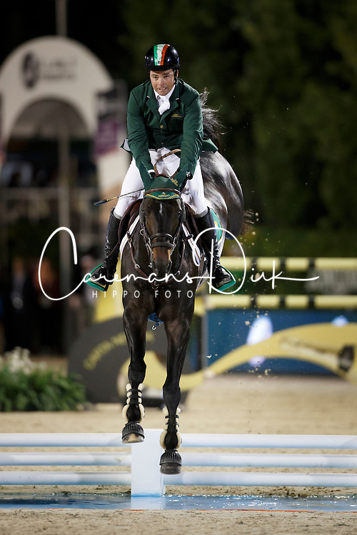 O Connor Cian, (IRL), Good Luck<br /> Final<br /> Furusiyya FEI Nations Cup Jumping Final - Barcelona 2015<br /> © Dirk Caremans<br /> 26/09/15