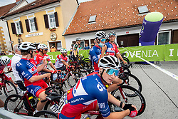 Kristijan HOCEVAR of ADRIA MOBIL during 2nd Stage of 27th Tour of Slovenia 2021 cycling race between Zalec and Celje (147 km), on June 10, 2021 in Slovenia. Photo by Vid Ponikvar / Sportida