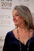 Kerry Fox at the IFTA Film & Drama Awards (The Irish Film & Television Academy) at the Mansion House in Dublin, Ireland, Thursday 15th February 2018. Photographer: Doreen Kennedy