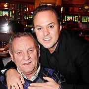 NLD/Hilversum/20111208-  Tros Winterparade, Frans Bauer met zijn vader Chris Bauer
