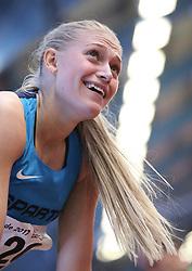 Ida Karstoft. Danske Mesterskaber indendørs i atletik 2017  i Spar Nord Arena, Skive, Denmark, 18.02.2017. Photo Credit: Allan Jensen/EVENTMEDIA.
