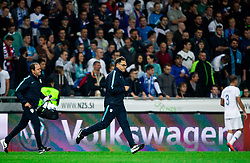 Physiologist -- and team doctor Matjaz Vogrin during the 2020 UEFA European Championships group G qualifying match between Slovenia and Poland at SRC Stozice on September 6, 2019 in Ljubljana, Slovenia. Photo by Vid Ponikvar / Sportida
