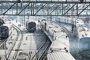 Irkutsk Railway Station. Siberia, Russia