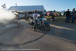 At the Buffalo Chip Campground during the 75th Annual Sturgis Black Hills Motorcycle Rally.  SD, USA.  August 6, 2015.  Photography ©2015 Michael Lichter.