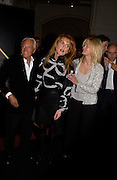 Giorgio Armani, Lady Helen Taylor and the Duchess of york, Sarah Ferguson at Giorgio Armani, ' A retrospective' sponsored by Mercedes, Royal Academy, 14 October 2003. © Copyright Photograph by Dafydd Jones 66 Stockwell Park Rd. London SW9 0DA Tel 020 7733 0108 www.dafjones.com