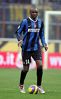 "Patrick Vieira (Inter) <br />Italian ""Serie A"" 2006-2007<br />21 Jan 2006 (Match Day 20)<br />Inter-Fiorentina (3-1)<br />""Giuseppe Meazza"" Stadium-Milano-Italy<br />Photographer:Jennifer Lorenzini INSIDE"