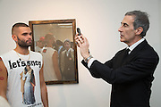 LUCA MARCHETTO; DAVID CROLAND, Fashion Show: Robert Mapplethorpe. Alison Jacques Gallery. Berners St. London. 10 September 2013
