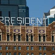 Hilton Hotel President, downtown Kansas City, Missouri.
