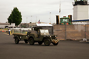 Jeep arriving at Warbirds Over the West.
