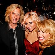 NLD/Amsterdam/20100913 - Verjaardagsfeestje Modemeisjes met een missie, Adam Curry met dochter Christina Curry en Patricia Paay