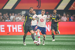 August 1, 2018 - Atlanta, Georgia, United States - MLS All-Star midfielder ALEXANDER RING fights for the ball during the 2018 MLS All-Star Game at Mercedes-Benz Stadium in Atlanta, Georgia.  Juventus F.C. defeats  MLS All-Stars defeat  1 to 1  (Credit Image: © Mark Smith via ZUMA Wire)