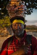 Peanut vendor, Fort Clarence Beach, Kingston, Jamaica
