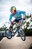 #741 (ARBOLEDA OSPINA Diego Alejandro) COL during practice at Round 3 of the 2019 UCI BMX Supercross World Cup in Papendal, The Netherlands