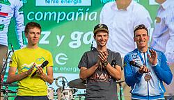 Tadej Pogacar and Primoz Roglic during the Day for the medals: Reception of Slovenian sport heroes on 30.9.2019 on Kongresni square, Ljubljana, Slovenia. Photo by Urban Meglič / Sportida