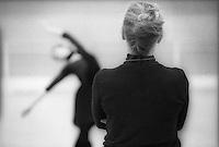 Natalia Makarova coaching Alina Cojocaru for the role of Nikiya in the Royal Ballet's production of La Bayadere.