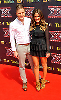 X-Factor Press Launch at the O2 Arena, London, on Wednesday 17/08/ 2011