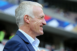 June 1, 2018 - Paris, Ile-de-France, France - Didier Deschamps, head coach of France National Team, before the friendly football match between France and Italy at Allianz Riviera stadium on June 01, 2018 in Nice, France..France won 3-1 over Italy. (Credit Image: © Massimiliano Ferraro/NurPhoto via ZUMA Press)