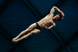 Tom Daley from Dive London Aquatics Club dives from the 10m Platform - Mandatory byline: Rogan Thomson/JMP - 11/06/2016 - DIVING - Ponds Forge - Sheffield, England - British Diving Championships 2016 Day 2.
