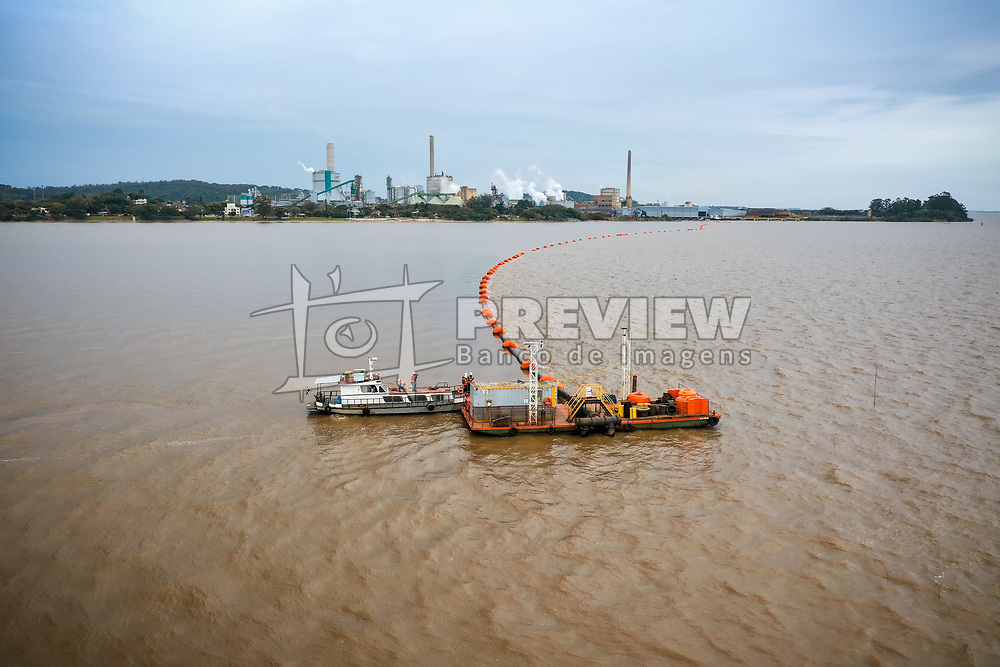 Allonda em Operação no Lago Guaíba. FOTO: Jefferson Bernardes/ Agência Preview.