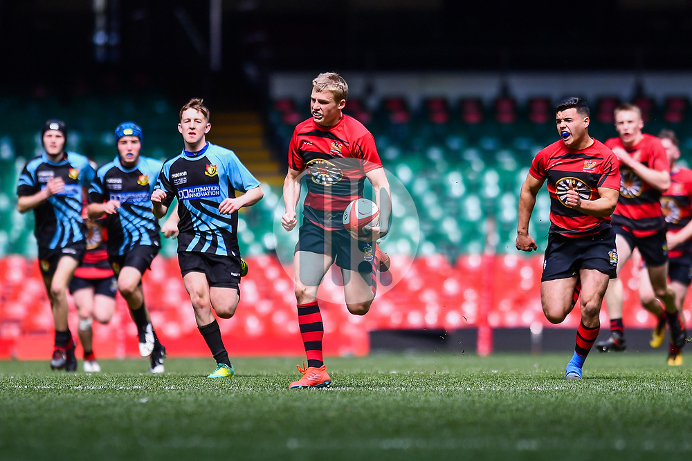 Resolven v Tenby United  - Mandatory by-line: Craig Thomas/Replay images - 04/05/2019 - RUGBY - Principality Stadium  - Cardiff, Wales - Resolven v Tenby United - National Youth Bowl Final