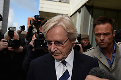 Coronation Street actor Bill Roache leaves Preston Magistrates' Court, UK, May 14, 2013, Photo by: Andrew Parsons / i-Images