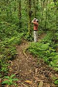 Birding on the Cano Negro Trail, Santa Elena Cloud Forest Reserve, Costa Rica