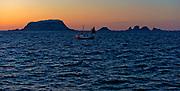 Winter sunrize at the island of Röst, Lofoten, Norway.