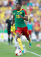 Cameroon's Karl Toko Ekambi during international friendly match. June 13,2017.(ALTERPHOTOS/Acero)