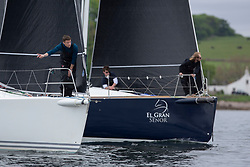 Day 1 Scottish Series, SAILING, Scotland.<br /> <br /> Jings, J109, 8543R, CCC, El Gran Senor, J122E, 4822R, CCC <br /> <br /> The Scottish Series, hosted by the Clyde Cruising Club is an annual series of races for sailing yachts held each spring. Normally held in Loch Fyne the event moved to three Clyde locations due to current restrictions. <br /> <br /> Light winds did not deter the racing taking place at East Patch, Inverkip and off Largs over the bank holiday weekend 28-30 May. <br /> <br /> Image Credit : Marc Turner / CCC