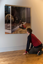 """The magic and wonder of childhood is the subject of a new exhibition of photographs at the Scottish National Portrait Gallery (SNPG) this autumn. When We Were Young delves into the collection of the National Galleries of Scotland to explore how the lives of children have fascinated photographers from the earliest days of the medium to the present. <br /> <br /> More than 100 images, which capture children at play, at work, at school and at home reveal how the experience of being a child, and the ways in which they have been represented, have changed radically in the past 175 years.<br /> <br /> Pictured: Wendy McMurdo's """"Girl with Bears, Royal Museum of Scotland, Edinburgh"""", 1999"""