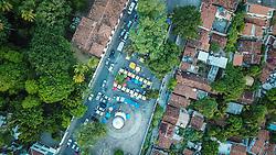Vista aérea do Largo do Alto da Sé com destaque para Catedral da Sé - construção iniciada em 1548 FOTO: Jefferson Bernardes/ Agência Preview