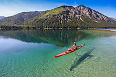 Paddling Alp Lakes