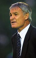 Fotball. 05.08.2002.<br /> Chelsea v Aldershot.<br /> Claudio Raineri, Chelsea.<br /> Foto: David Price, Digitalsport