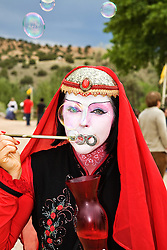 The Renaissance Fair is held each September at the historic museum of El Rancho de Las Golondrinas near Santa Fe and features dancers, kinghts, acrobats and many other performers all celebrating the culture and life style of the Medieval Middle Ages.  Serendipity is a performer with the family troupe of ClanTynker.