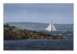 Day five of the Fife Regatta, Race from Portavadie on Loch Fyne to Largs. <br /> Fiona, Didier Cotton, FRA, Gaff Cutter, Wm Fife 3rd, 2005<br /> <br /> <br /> * The William Fife designed Yachts return to the birthplace of these historic yachts, the Scotland's pre-eminent yacht designer and builder for the 4th Fife Regatta on the Clyde 28th June–5th July 2013<br /> <br /> More information is available on the website: www.fiferegatta.com