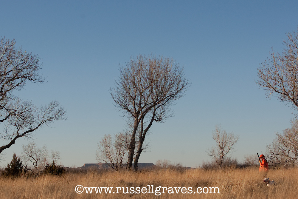 QUAIL HUNTERS IN THE TEXAS PANHANDLE