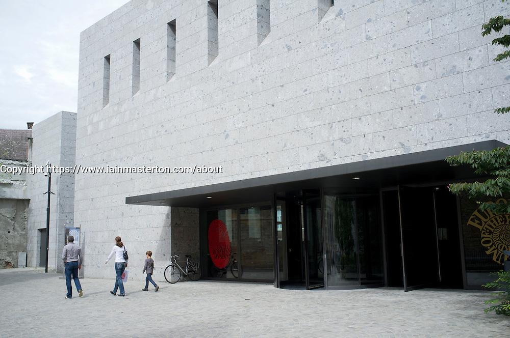 The new Gallo-Roman Museum in Tongeren in Belgium
