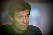 Mark Webber, photographed for CRANKED magazine. Mark Webber Portrait