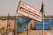 The 4 sq km Abu Shouk refugee camp, which is  (disputedly) home to 38,000 displaced persons, on the outskirts of Al Fasher, North Darfur. Sudan.