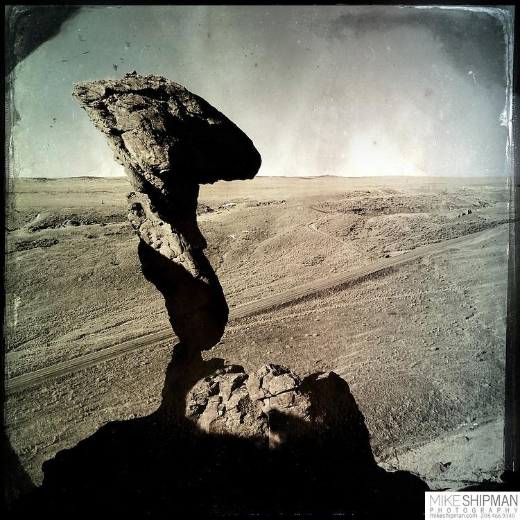 Balanced, Rock, Castelford, Idaho