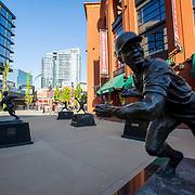 Lou Brock Statue, St. Louis Ballpark Village
