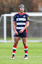 Soloman Hutchings of Bristol Academy U18 - Mandatory by-line: Craig Thomas/JMP - 03/02/2018 - RUGBY - SGS Wise Campus - Bristol, England - Bristol U18 v Harlequins U18 - Premiership U18 League