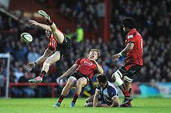 - Photo mandatory by-line: Dougie Allward/JMP - Mobile: 07966 386802 - 17/04/2015 - SPORT - Rugby - Bristol - Ashton Gate - Bristol Rugby v Jersey - Greene King IPA Championship