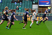 Rugby Union - 2019 (31st Women's) Varsity Match - Oxford University vs. Cambridge University<br /> <br /> Coreen Grant  of Cambridge runs through to score the winning try with minutes to go, at Twickenham.<br /> <br /> COLORSPORT/ANDREW COWIE