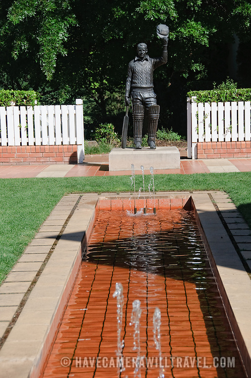 The Bradman Museum in Bowral celebrating Don Bradman, probably the best cricketer of all time.